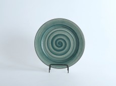 H.P Deco. Green / FL. Plate  11