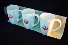 H.P Ivory Coffee & Tea Mug Set/3 D09