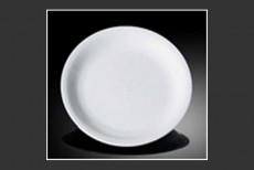 H.P Ivory / Ouzi Round Plate 18