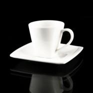 H.P Ivory / Meena Round Coffee Cup & saucer 90cc