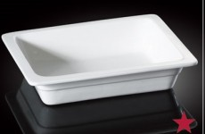 H.P Ivory / Full Rec. Chafing Dish Insert 21.5X13