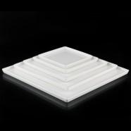 H.P. Ivory 16.7*16.7*1.4Cm Square Plate