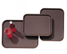 N. Slip Tray Rec. 37.5*50 Plastic W Rubber./ 520