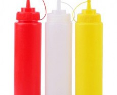 240Ml Squeezer (White , Red , Yellow) Mix