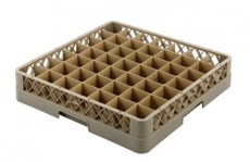 Glass Rack-49 Compartment Beig
