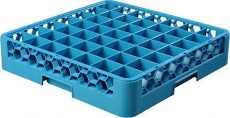 Glass Rack-49 Compartment Blue