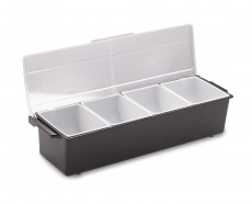 Condiment Holder, 4 Compartment