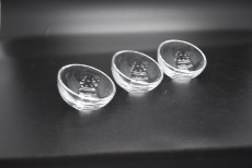 6pcs Set Glass Saucer KD-0170
