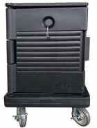 JW-SIF / Single Wall Food Carrier, Black Vague