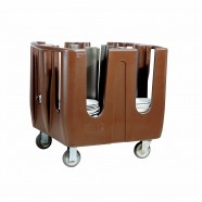 ADJUSTABLE DISH CADDY FOR 320 PLATES,JIWINS