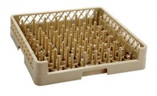 JW-64P / 64-COMPT. OPEN PLATE & TRAY RACK BEIGE