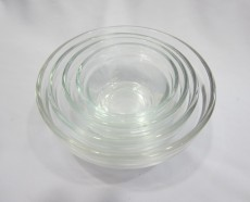 Glass Stackable Bowl No3