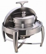S. Steel - Soup Warmer Round Chafing Dish