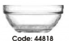 44818-BX6B6 STACKABLE BOWL 105MM