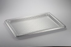 Acrylic Tray Silver Crown 68*50*3
