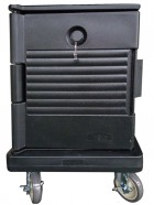 JW-FOC / Food Carrier Dolly, Trolley Black