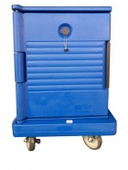 JW-SIF / Single Wall Food Carrier, ThermoBox Blue Vague