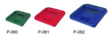 P-081  / PE LID FOR PC STORAGE CONTAINER (6L/8L), RED