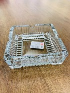 GLASS ASHTRAY 11*11CM